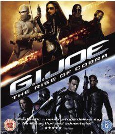 GI Joe - The Rise Of Cobra bluray