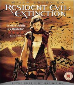 Resident Evil - Extinction bluray