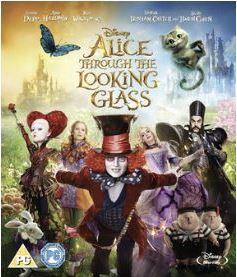 Alice i Spegellandet bluray