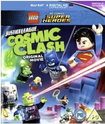 Lego DC Justice League Cosmic Clash bluray (import med svensk text och tal)