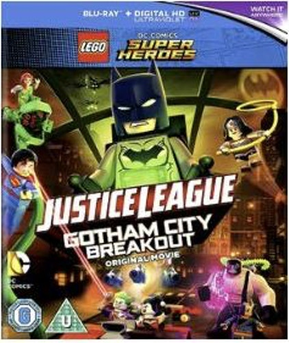 Lego DC Gotham City Breakout bluray import