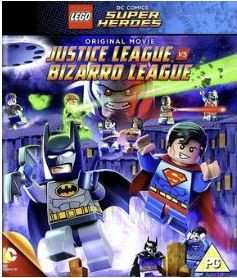 Lego Batman - Justice League vs Bizarro bluray (import med svensk text och tal)