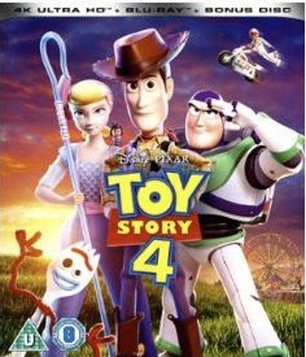 Toy Story 4 4K UHD Bluray (import)