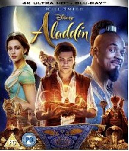 Aladdin (från 2019) 4K Ultra HD (import)
