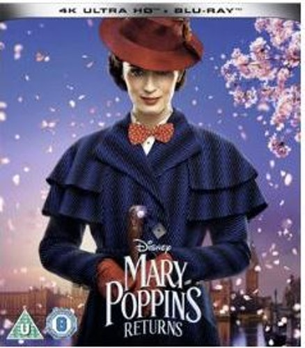 Mary Poppins Returns 4K Ultra HD + Bluray (import)