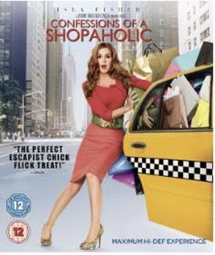 En shopaholics bekännelser/Confessions Of A Shopaholic bluray  (Import Sv.Text)