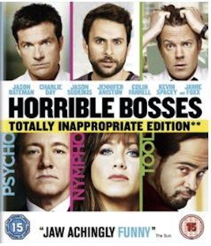 Horrible Bosses bluray