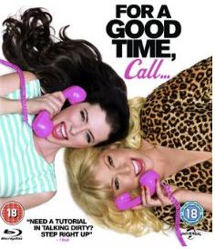 For a Good Time Call bluray (import med svensk text)