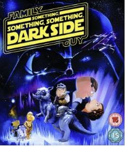 Family Guy - Something Something Something Dark Side bluray (import med svensk text)