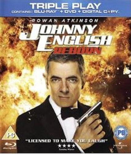 Johnny English - Reborn bluray (import med svensk text)
