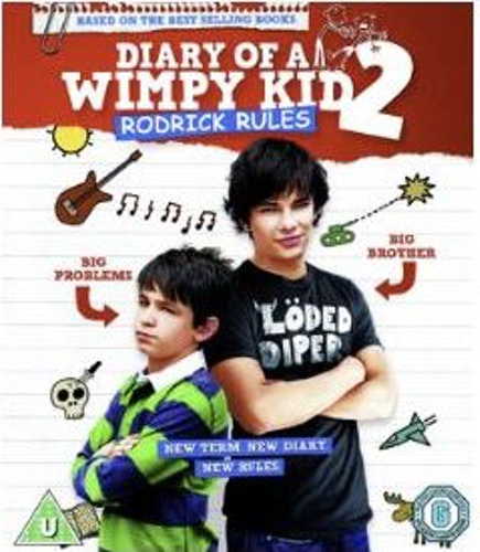 Dagbok för alla mina fans 2 - Rodrick regerar bluray