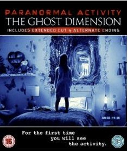 Paranormal Activity 5 - The Ghost Dimension bluray