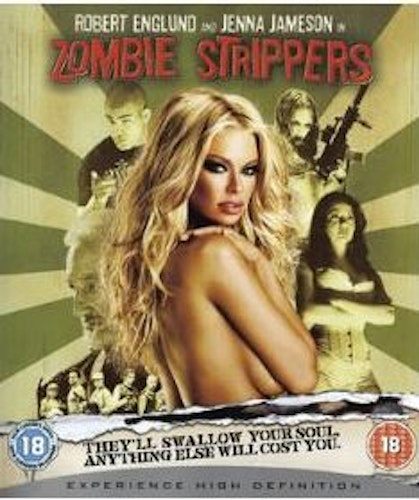 Zombie Strippers bluray import med Sv. text