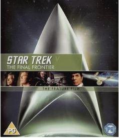 Star Trek 5 - The Final Frontier bluray (import) bluray