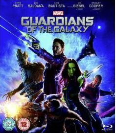 Guardians Of The Galaxy bluray