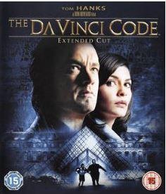 Da Vinci koden bluray (import med svensk text)