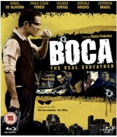 Boca - The Real Godfather bluray (import med svensk text)