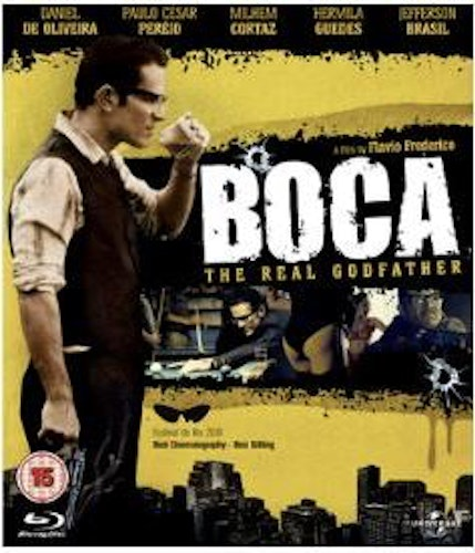 Boca - The Real Godfather bluray (import)
