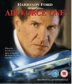Air Force One (bluray import med svensk text)