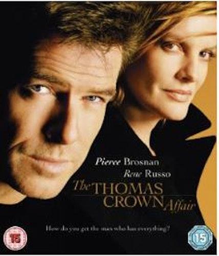 The Thomas Crown Affair/Äventyraren Thomas Crown bluray import