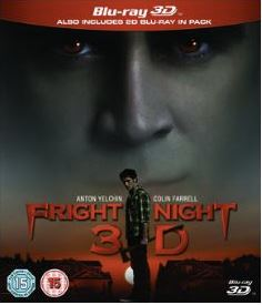 Fright Night  3D bluray (import)