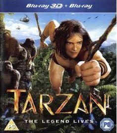 Tarzan 3D (import) bluray