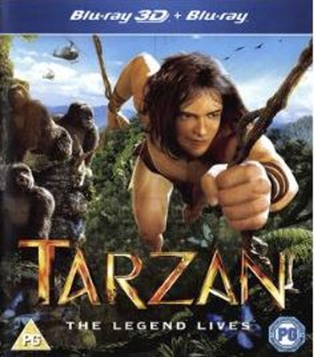 Tarzan 3D (import) bluray