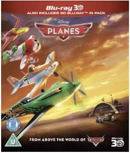 Flygplan 3D (import) bluray