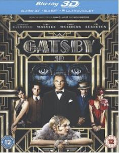 The Great Gatsby 3D (import) bluray