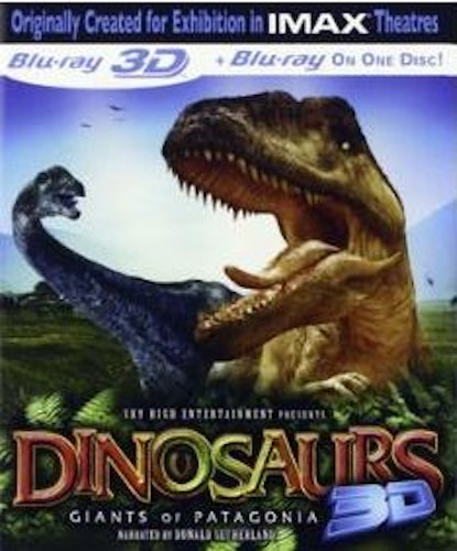 Dinosaurs - Giants Of Patagonia IMAX 3D bluray