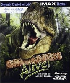Dinosaurs Alive! 3D IMAX (import) bluray