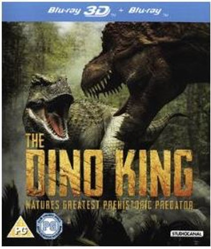 The Dino King 3D (import) bluray