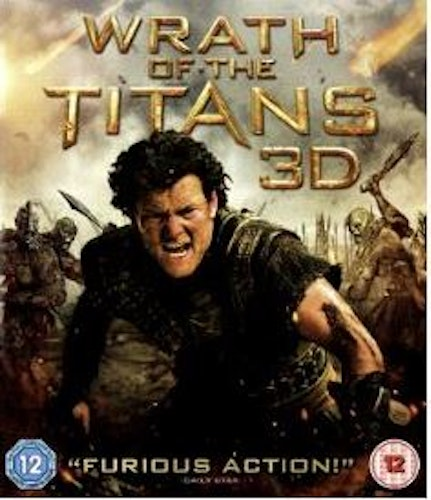 Wrath Of The Titans 3D bluray (import Sv text)