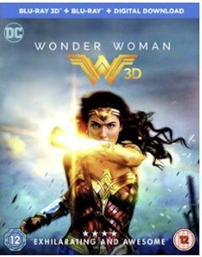 Wonder Woman 3D (import Sv text) bluray