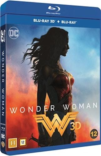 Wonder Woman 3D bluray