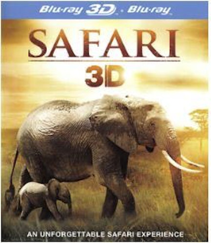 Safari 3D+2D (import) bluray
