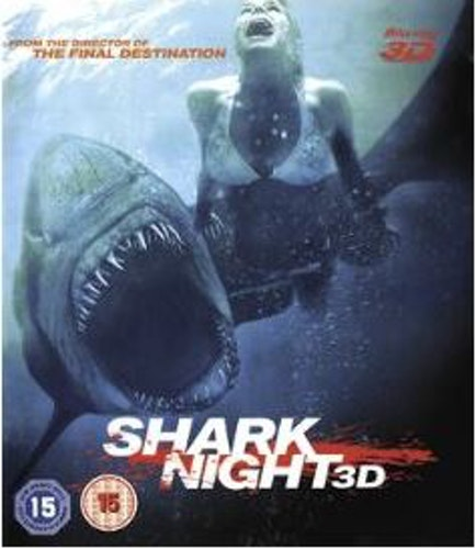 Shark Night 3D (import) bluray