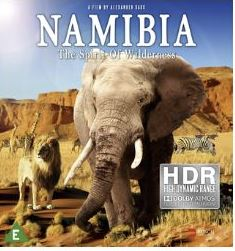 Namibia - The Spirit Of Wilderness 4K Ultra HD (import)