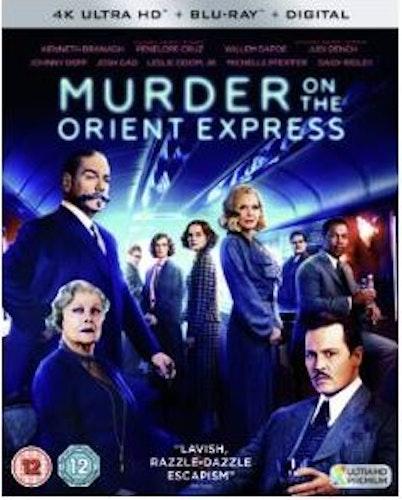 Mordet på Orientexpressen 4K Ultra HD