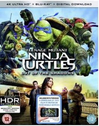 TMNT - Teenage Mutant Ninja Turtles - Out Of The Shadows 4K Ultra HD + Bluray