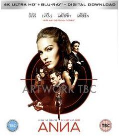 Anna 4K Ultra HD + bluray (import)