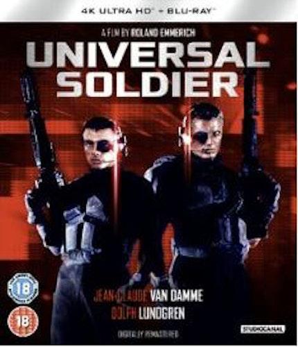 Universal Soldier 4K Ultra HD + Bluray (import)