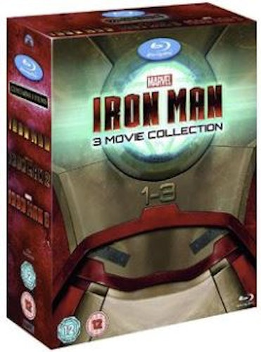 Iron Man Trilogy - Iron Man 1-3 bluray (import Sv text)