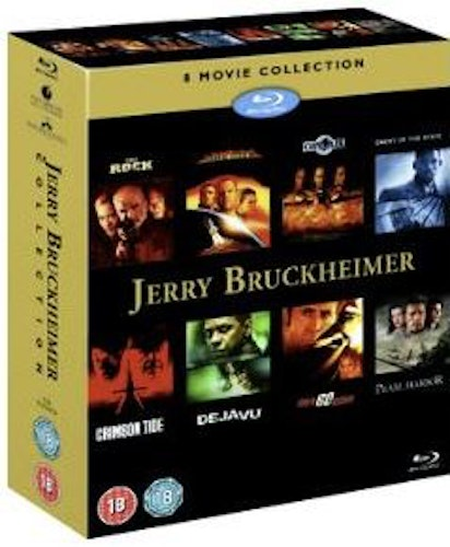 Jerry Bruckheimer Action Collection (8 Films) bluray (import Sv text)