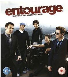 Entourage säsong 7 bluray (import Sv text)