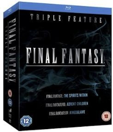 Final Fantasy - The Spirits Within / VII Advent Children / XV - Kingsglaive bluray import Sv text