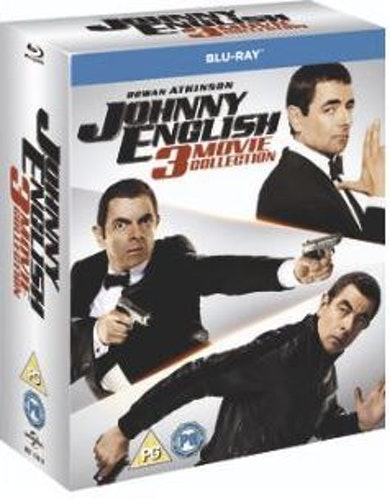 Johnny English 1-3 (import Sv text) bluray