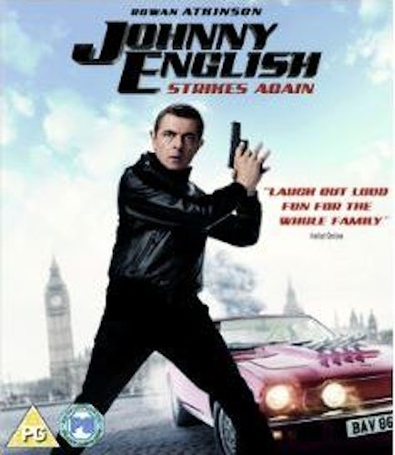 Johnny English Strikes Again (import) bluray