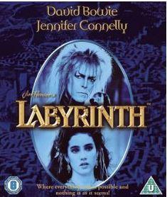 Labyrinth (import med svensk text) bluray