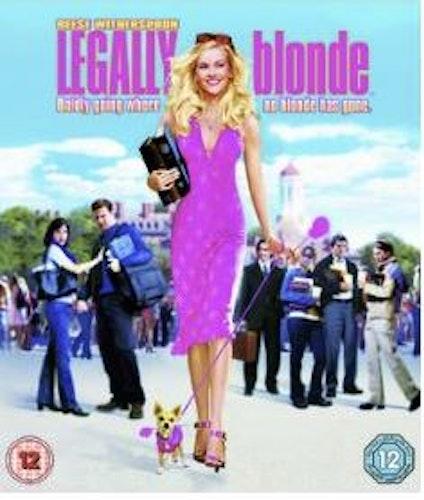 Legally Blonde (import med svensk text) bluray